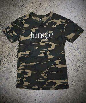 Jungle HQ - Icon Tee in Camo