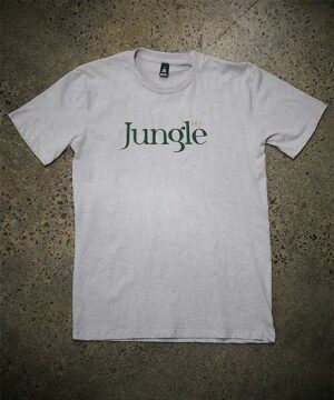 Jungle HQ - Icon Tee in Snow Marle