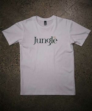Jungle HQ - Icon Tee in White