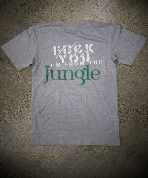 Jungle HQ Lifestyle Tee - Grey Marle