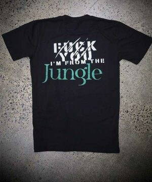 Jungle HQ Lifestyle Tee - Black