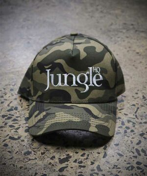 Jungle A-Frame Snapback in Camo
