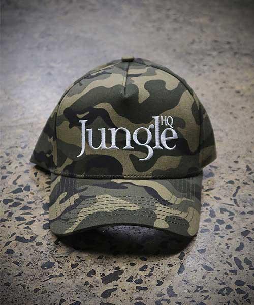 Jungle A-Frame Snapback in Camo
